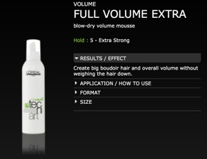 Full Volume Extra Mousse