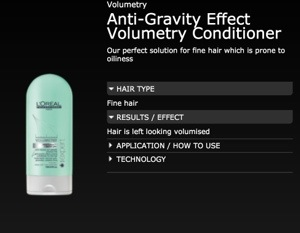 Anti-Gravity Effect Conditioner